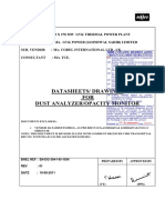 Dust Analyzer Documents