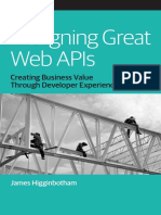 Designing Great Web Apis