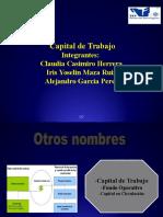 Capital Del Trabajo- Conta Culebro