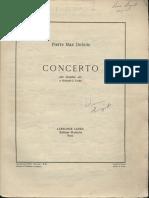 Dubois Saxophone Concerto