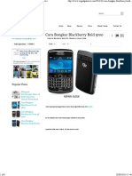 Cara Bongkar Blackberry Bold 9700 ~ X1gadgetnews