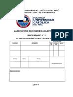 2016 1 Iee316 Lab2 Guiía Práctica