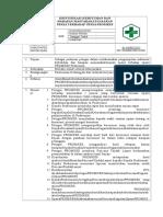 SOP Identifikasi Kebutuhan Pasien