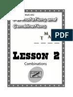 Pre-Calculus Math 40s - Permutations & Combinations - Lesson 2