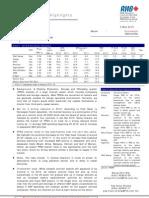 Oil & Gas - Upturn In FPSO Market - 3/5/2010