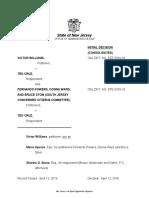 Victor Williams v Ted Cruz, OPINION (12 Apr 2016) natural born citizen, eligibility