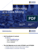 Lecture 1 Data mining