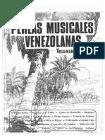 Perlas Musicales Venezolanas Volumen 1