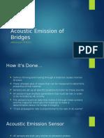 acoustic emission of bridges