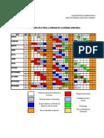 Calendario Cortes de Nomina 2014
