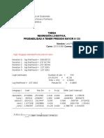 Bioestadistica, Regresion Logistica, Probabilidad Presion