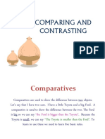Comparative and Superlative Adjectives Presentation