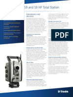 Brochure Trimble S9