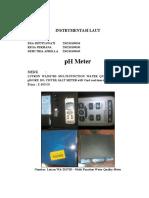 Instrumentasi Kelautan Ph Meter