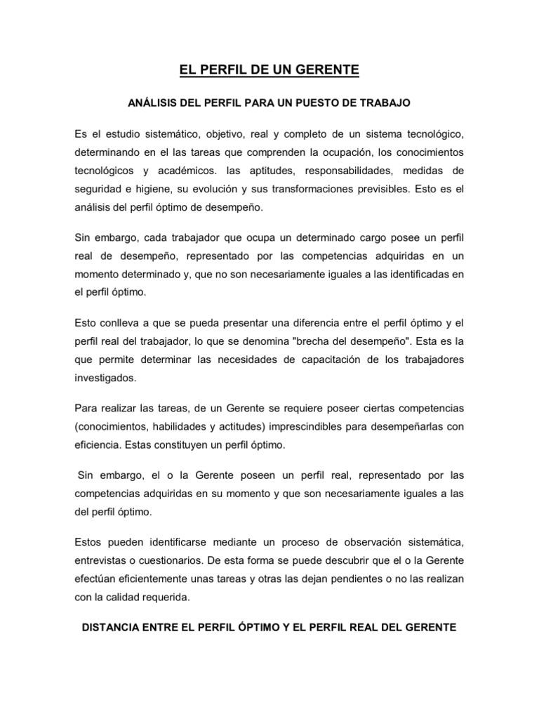 Contemporáneo Ejemplos Reanudar El Perfil Ideas - Colección De ...
