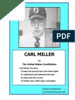 Carl Miller Constitutional Document