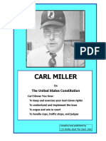 Carl Miller Constitutional Document