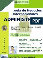 Sesión N° 02 - Administración.pptx
