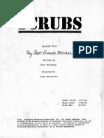 Scrubs 1x02 - My Best Friend's Mistake