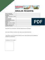 Formulir Menyapa Indonesia