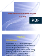 DOLE Communications Program