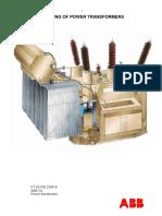 ABB Testing of Power Transformer