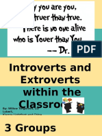 introverts and extroverts presentation edts