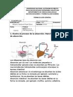 Cuestionario 2  Farmacocinetica