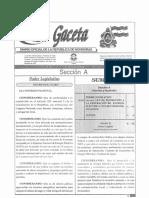 Decreto 70-2007 Ley Incentivos
