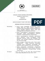 UU Nomor 38 Tahun 2014
