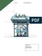 Aguas de Alimentación de Calderas PDF