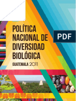 Politica Nacional de Diversidad Biológica.desbloqueado
