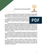 Proyecto Peña Solidaria OCEP