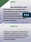 Epidemiologia Cronograma