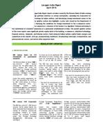Lexygen India Digest - April 2016
