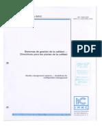 ISO 10005-2006 Directrices Para Los Planes de Calidad