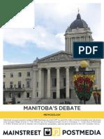Mainstreet - Manitoba Debate