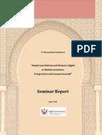 RightsDemocracy.family Law Seminar Report