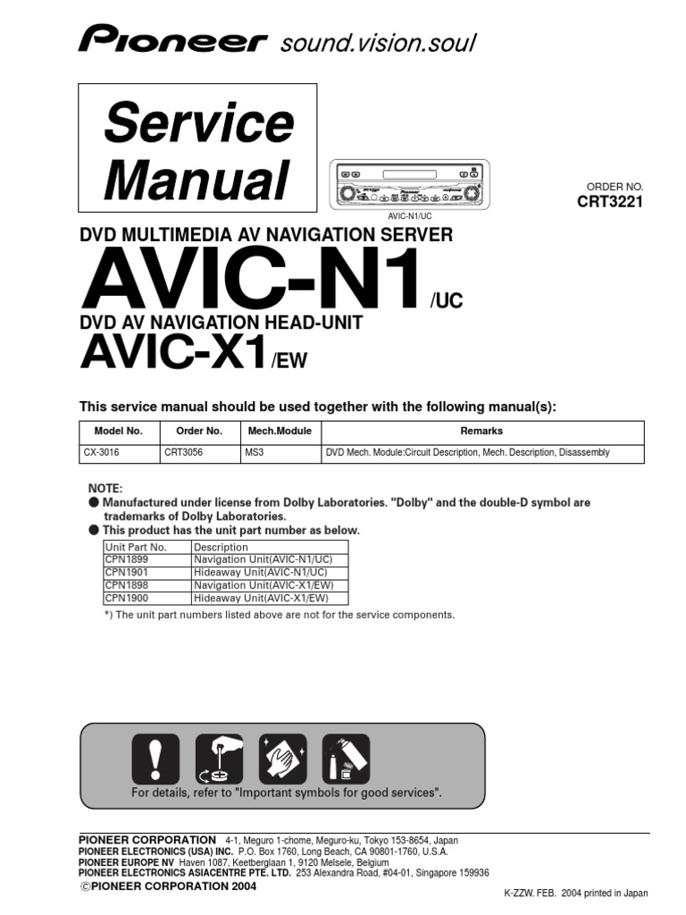 Pioneer Avic N3 Manual Bookmark About Wiring Diagram D2 N1 Data Rh 4 17 14 Reisen Fuer Meister De N3cpn 2143