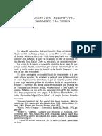 Adriano Gonzalez León. Entre el documento y la ficción. País Portátil