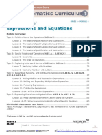 Math g6 m4 Module Overview