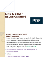 1 - Line & Staff Relationships