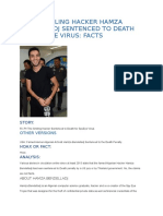 FAMED SMILING HACKER HAMZA BENDELLADJ SENTENCED TO DEATH FOR SPYEYE VIRUS