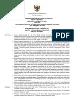 Permen Kominfo RI No. 32 Tahun 2007 tentang Penyesuaian Penerapan Sistem Stasiun Jaringan Lembaga Penyiaran Jasa Penyiaran Televisi