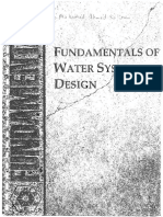 Fundamental of Water System Design