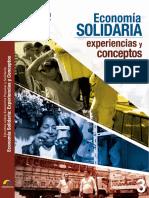 Economía Solidaria-Experiencias y Conceptos