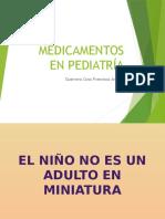 Medicamentos en Pediatría