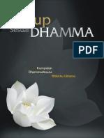 Hidup Sesuai Dhamma - Kumpulan Dhammadesana Bhante Uttamo
