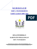 Cover Kurikulum Ktsp Smp 1 Wonokerto