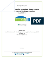 Guideline for Financing Agricultural Biogas Projects